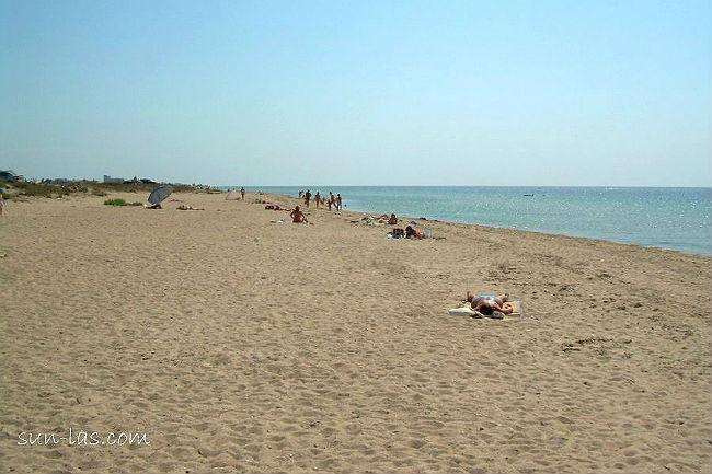 Солдатский пляж, полдень
