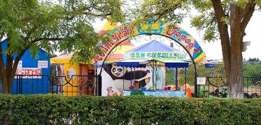 Детская площадка в Заозерном