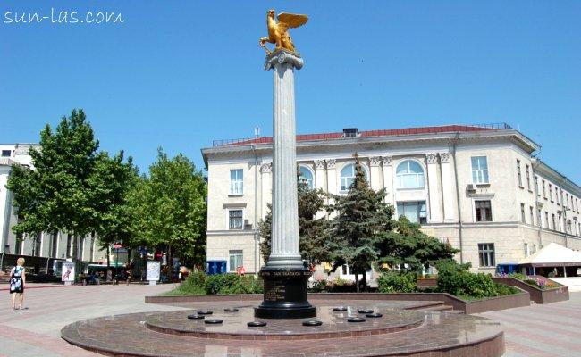 Керчь. Центральная площадь города.