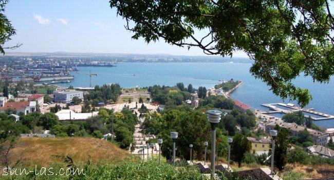 Керчь. Порт. Вид с лестницы