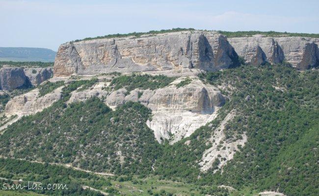 Бельбекский каньон.