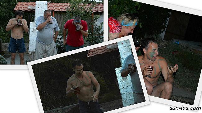 Конкурс на звание Водяного. День Нептуна 2013. Ласточка
