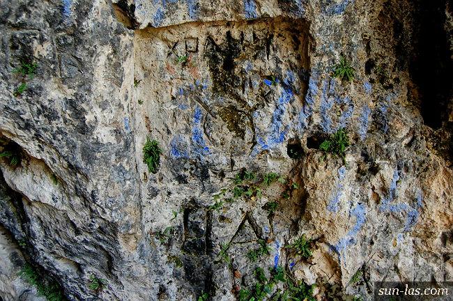 Кизил-Коба, рисунки на скалах