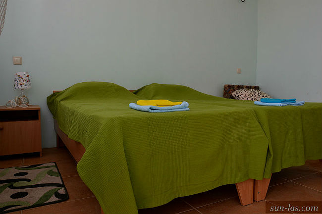 кровати в номере Ласточка+
