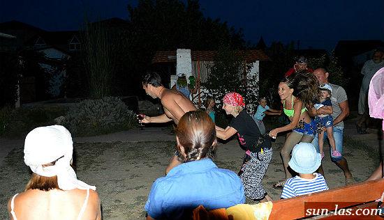 вечеринки в пансионате, Крым