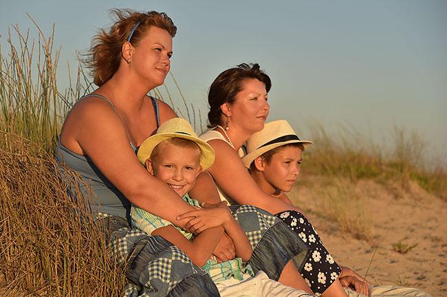 Фотосессии на пляже. Заозерное