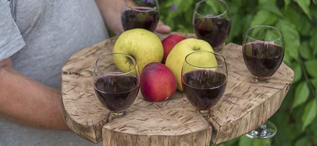 "Домашнее вино в пансионате ""Ласточка"", Заозерное"