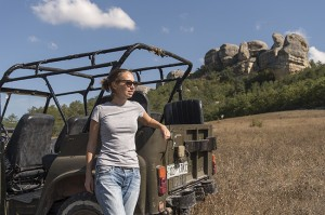 на УАЗиках по крымским горам